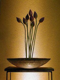 一花一葉 Ikebana 生け花 插花 Asian style flower arrangement