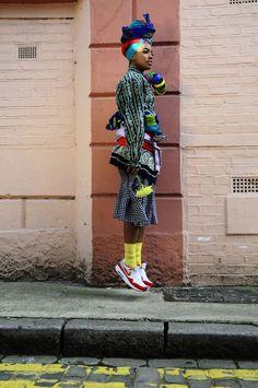 Kezia Frederick's Central Saint Martins BA collection. mix and match!