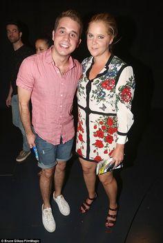 Big fan! Amy Schumer took a waltz down Broadway Saturday to visit...