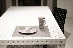 pattern designed by Oskar Zieta.  chair: https://shop.zieta.pl/pl,p,27,96,_chair.html  table: https://shop.zieta.pl/pl,p,27,100,_table.html