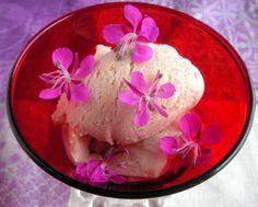 // Fireweed icecream (In Finnish) Icing, Ice Cream, Pudding, Eat, Desserts, Alaska, Food, Kitchen, Veg Garden