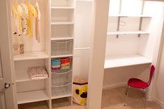 Fresh Interior Interior Closet Office Design Ideas With Mounted ...