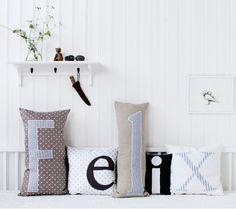 Pillow collection 4 for Oliver Furniture / Nordisk Rum by Pernille Grønkjær Taatø / www.blog.nordiskrum.dk
