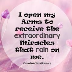 Daily Affirmations 7 December 2016