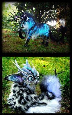 wolf Fantasy Creatures | Imaginary Woodland Fantasy Creatures, Wood Splitter Lee