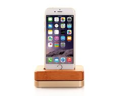 Apple iPhone 6 Factory Unlocked GSM Smartphone w/ Camera Silver (Certified Refurbished) Phone Charging Holder, Charger Holder, Wooden Chargers, Wood Phone Stand, Iphone 6 Ebay, Mobile Phones Online, Mobile Holder, Iphone 6 16gb, Speakers