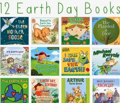 12 Earth Day Books for Kids    The Chirping Moms