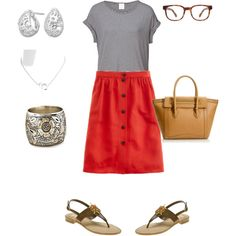 OOTD 5/25/12, created by jlcl119 on Polyvore