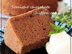しっとり♪生チョコシフォンケーキ♡の画像