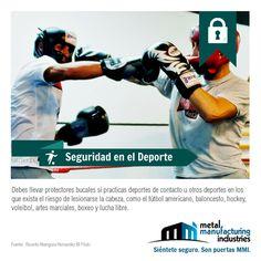 El tip de #Seguridad en el Deporte está enfocado en prevenir cortaduras en la parte interna de la boca y la conservación de la dentadura.