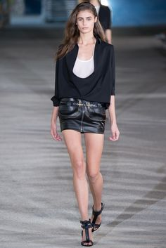 Anthony Vaccarello Spring 2015 Ready-to-Wear - Collection - Gallery - Style.com