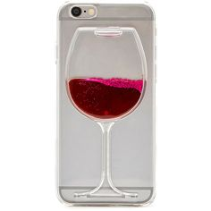 Wine Glass iPhone 6 Case ($8.95) ❤ liked on Polyvore featuring accessories, tech accessories, phone cases, electronics, iphone case and phones
