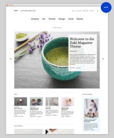 LOVING this new #WordPress theme from my favourite WordPress shop Elmastudio. Zuki Premium WordPress Theme. It's €18 as a stand-alone purchase or €36 if you buy their theme bundle which I HIGHLY recommend. The bundle is packed with beautifully designed themes. I use Cocoa on my own blog.