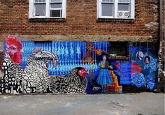 chickens mural - Google Search