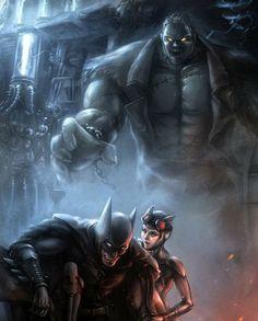 Batman & Catwoman Vs Salomon Grundy