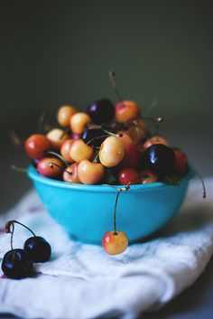 life is a bowl of cherries....