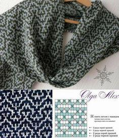 New Knitting Design / Pattern 179 für Auto – DIY Crafts – maallure – Scarf Ideas 2020 Crochet Stitches Patterns, Crochet Chart, Knit Or Crochet, Free Crochet, Knitting Patterns, Knitting Charts, Knitting Stitches, Knitting Designs, Mosaic Knitting