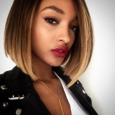 28 Celebrities Who Made 2014 The Year Of The Bob - Jourdan Dunn