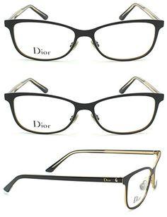 Christian Dior Montaigne 31 Women Metal Eyeglasses (Matte Black Frame 0SEZ, 54)
