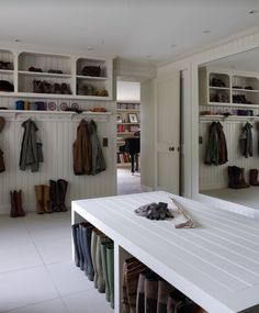 Bright Shoe Storage Bench trend London Traditional Laundry Room Inspiration with boot room boot storage Cloak room coat rack Coat Rail coats light modern mud Source by lechhatfield Coat Mudroom Laundry Room, Large Laundry Rooms, Shoe Storage Laundry Room, Laundry Room Island, Mud Room Lockers, Utility Room Storage, Boot Storage, Bench With Shoe Storage, Boot Room Utility
