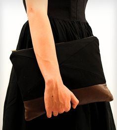 Canvas & Leather ATP Clutch