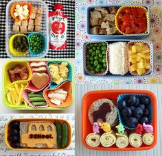 We bow down to you, all ye masters of kids bento box lunches! Whoa.