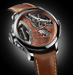 Greubel Forsey | Art Piece 1 Tribute To Robert Filliou.  #greubelforsey #artpiece1 #robertfilliou #dreamwatch