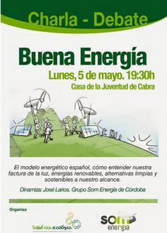 #Córdoba CHARLA – DEBATE: BUENA ENERGÍA ecoagricultor.com