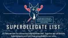 Bernie Sanders Supporter Creates Superdelegate 'Hit List'; Superdelegates Not Amused : NPR