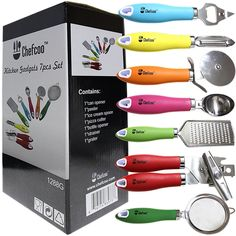 All-in-One Kitchen Gadgets Cooking Tools Set http://www.chefcoo.com/collections/kitchen/products/gadgets