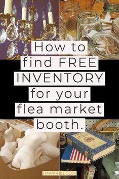 Flea Market Crafts, Flea Market Decorating, Flea Market Style, Flea Market Finds, Flea Markets, Vintage Booth Display, Booth Displays, Craft Show Displays, Craft Show Ideas
