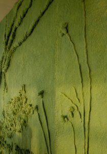 Geïnspireerd op de natuur en geverfd met natuurlijke pigmenten.