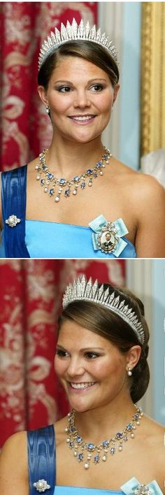 Crown Princess art a state visit to Finalnd
