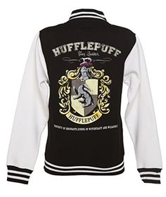 Women's Black Harry Potter Hufflepuff Team Quidditch Varsity Jacket If you're a Hufflepuff kinda gal, you will definitely appreciate this magnificent Harry Potter varsity jacket! Harry Potter Style, Harry Potter Room, Harry Potter Outfits, Harry Potter Hogwarts, Harry Potter Jacket, Sweat Shirt, Varsity Jacket Outfit, Hufflepuff Pride, Ravenclaw
