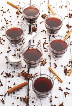 Host a fall bonfire for your friends and serve this delicious Slow-Cooker Spiced Mulled Wine with unique autumn flavors and spices like clove and ginger. This cocktail is sure to be a hit with your guests!