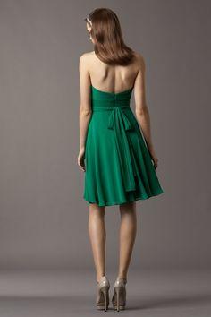 Watters Maids Dress Cedar