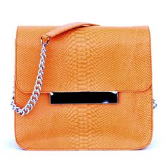 Frankie Cross-body in Burnt Orange