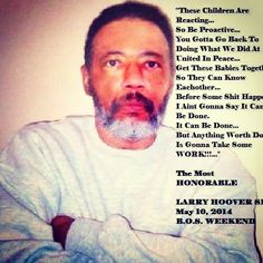 Larry hoover black kings pinterest gangster disciples find this pin and more on disciples by judy smith see more larry hoover malvernweather Choice Image