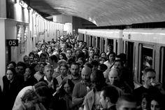 Le métro parisien - © Thomas Claveirole