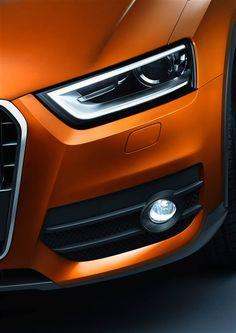 2012 Audi Q3 2.0 TDI quattro Front lights