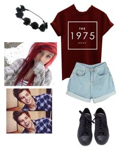 """At the park with Luke!"" by woah-1975 ❤ liked on Polyvore featuring INDIE HAIR"