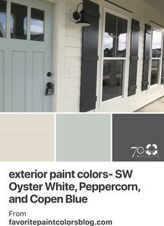 Tips, methods, as well as manual with respect to obtaining the most effective result and making the maximum perusal of Home Exterior Remodel Exterior Paint Colors For House, Paint Colors For Home, Diy Exterior House Painting, Exterior Paint Ideas, Exterior Design, Exterior Shutter Colors, Cottage Exterior Colors, Outdoor Paint Colors, Exterior Paint Color Combinations