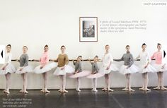 I love that JCrew used ballerinas to showcase their new cashmere collection!