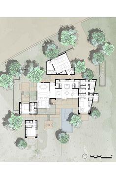 The Brown Residence,Plan