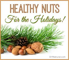 The health benefits of nuts are touted everywhere, but what about healthy nuts for the holidays? Here are 3 of my favorites, and a cinnamon walnut recipe!