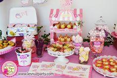 Mesa dulce Baby Shower, es una niña!!! - Baby Shower Sweet table