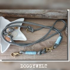 Tau Hundeleine - verstellbar von Doggywelt auf Etsy The Knot, Arrow Necklace, Etsy, Jewelry, Dog Leash, Linen Fabric, Schmuck, Jewlery, Jewerly