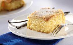Tipp: Készíthetjük csak pudingporral, és vanília helyett használhatunk vaníliás cukrot, de a vaníliarúdtól lesz az igazi. Vanilla Cake, Tiramisu, Cooking, Ethnic Recipes, Food, Cakes, Retro, Kitchen, Cake Makers