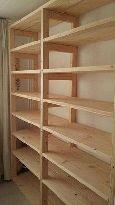 ideas for brilliant and recommended garage organizations 52 - . - ideas for brilliant and recommended garage organizations 52 – - Basement Shelving, Garage Shelf, Wall Shelving, Garage Shelving Plans, Garage Closet, Pantry Shelving, Building Garage Shelves, Garage Cabinets, Shelving Ideas