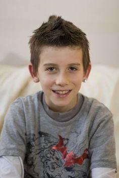 Simon as a child